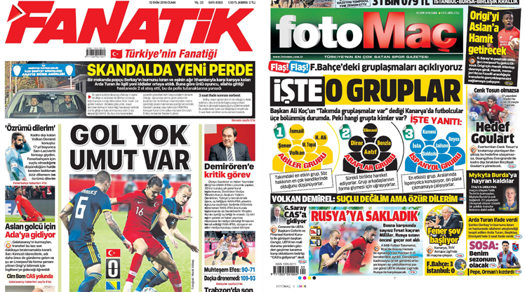 12 Ekim gazete manşetleri