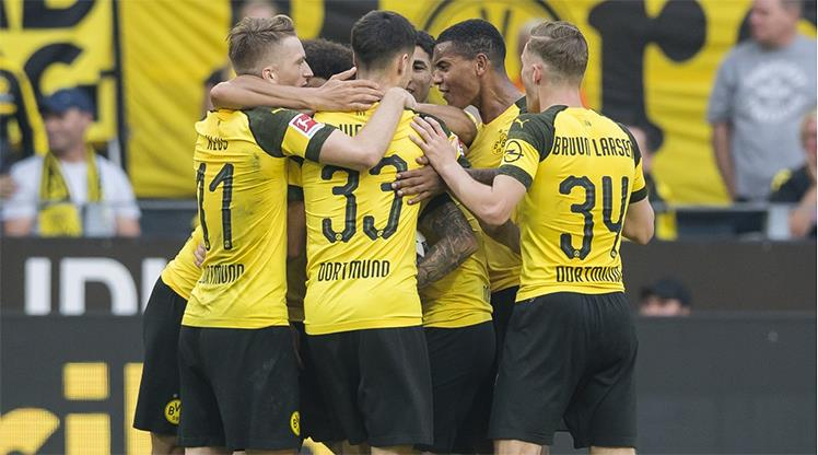 Arsenal'den Dortmund'a 3. baskın!