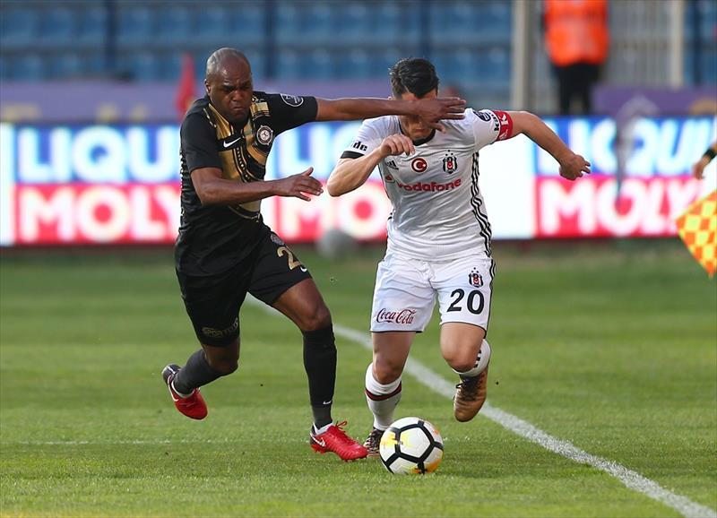 Osmanlıspor - Beşiktaş foto galerisi