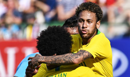 Neymar Brezilya tarihinin en fazla gol atan 3. ismi oldu