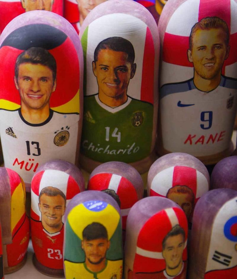 Dünya Kupası'nın yıldızları Matruşka'da