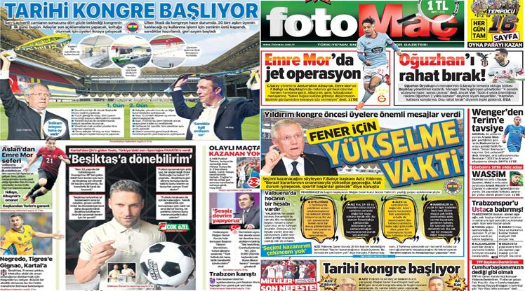 Günün manşetleri