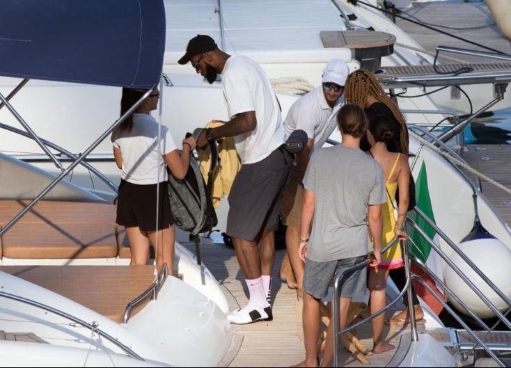 LeBron James'in tatil keyfi