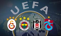 UEFA yeni sıralamayı açıkladı (17.08.2018)