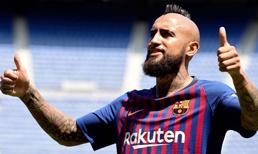 Barcelona Vidal'i basına tanıttı