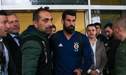 Fenerbahçe Antalya'ya geldi