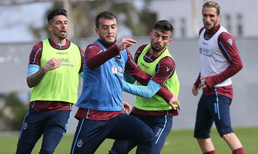 Trabzon'da Novak ve Ibanez sakatlandı