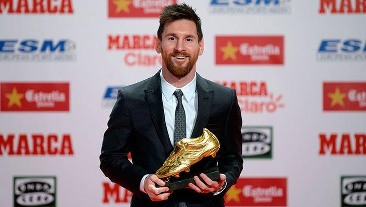 Altın Ayakkabı'ya Messi damgası