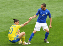 İtalya İsveç maç özeti