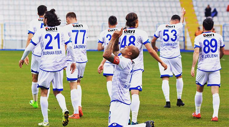 Altınordu BŞB Erzurumspor maç özeti