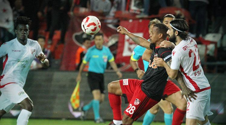Gazişehir Gaziantep FK Boluspor maç özeti
