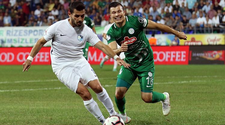 Çaykur Rizespor BŞB Erzurumspor maç özeti