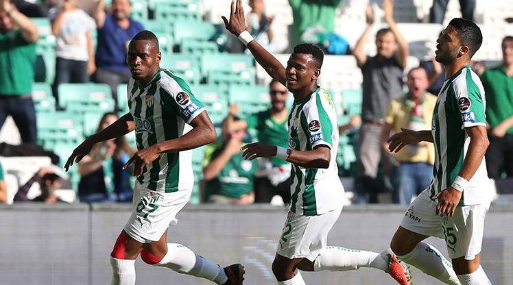 Bursaspor MKE Ankaragücü maç özeti