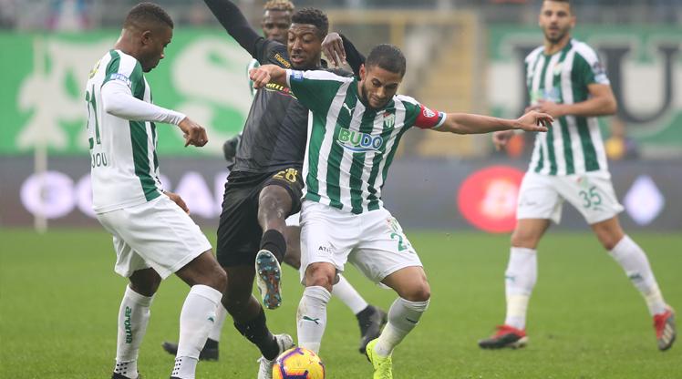 Bursaspor Evkur Yeni Malatyaspor maç özeti