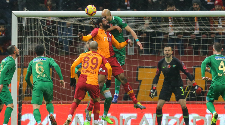 Galatasaray Akhisarspor maç özeti