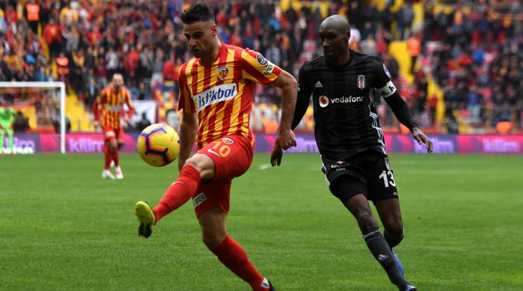İstikbal Mobilya Kayserispor Beşiktaş maç özeti