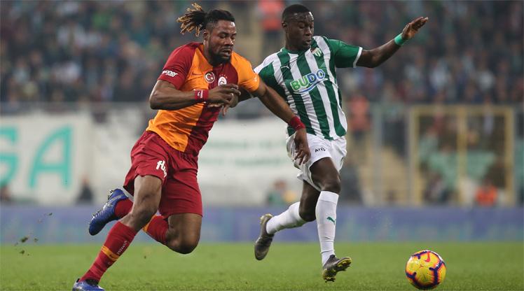 Bursaspor Galatasaray maç özeti
