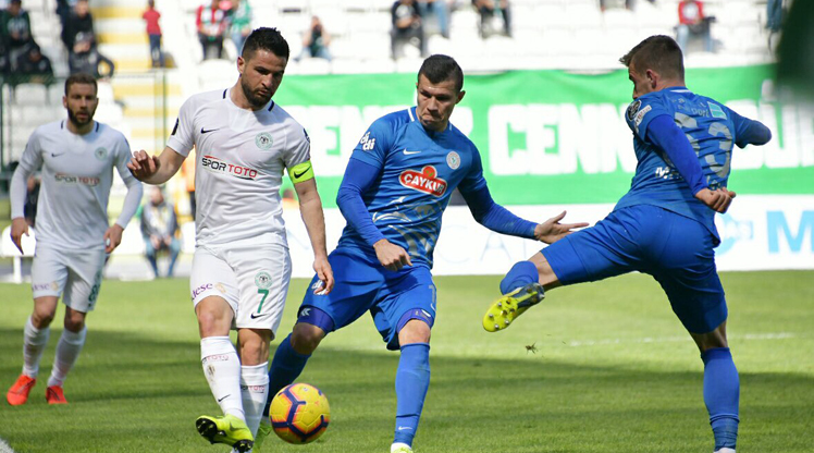 Atiker Konyaspor Çaykur Rizespor maç özeti