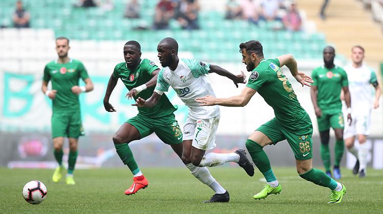 Bursaspor Akhisarspor maç özeti