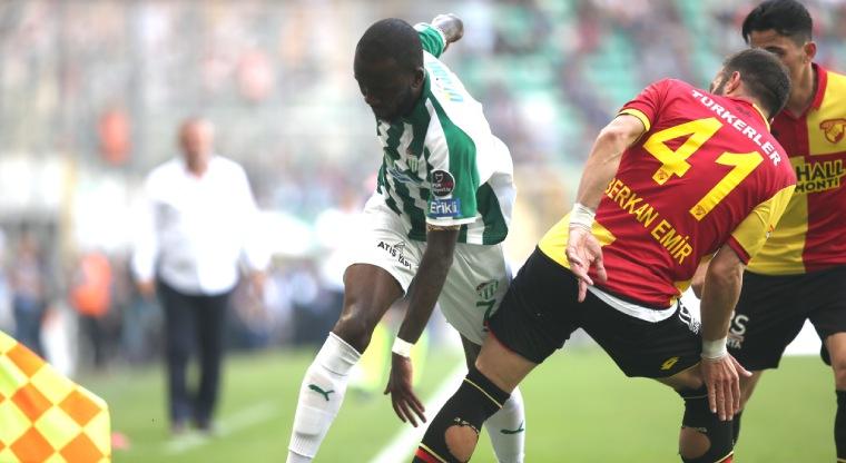 Bursaspor Göztepe maç özeti