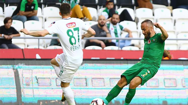 Konyaspor Akhisarspor maç özeti