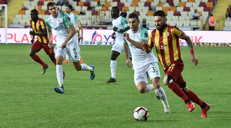 Yeni Malatyaspor Bursaspor maç özeti