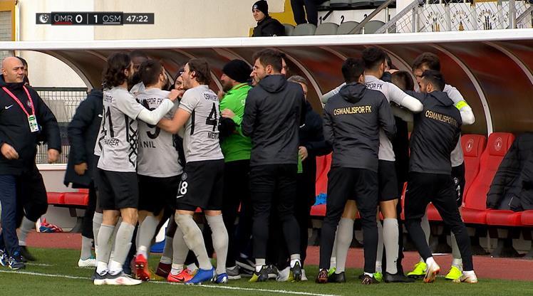 Ümraniyespor Osmanlıspor FK maç özeti
