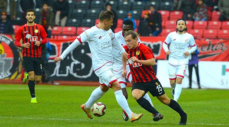 Eskişehirspor Boluspor maç özeti