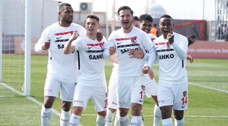Ümraniyespor Gazişehir Gaziantep FK maç özeti