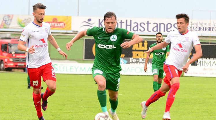 Giresunspor Altınordu maç özeti