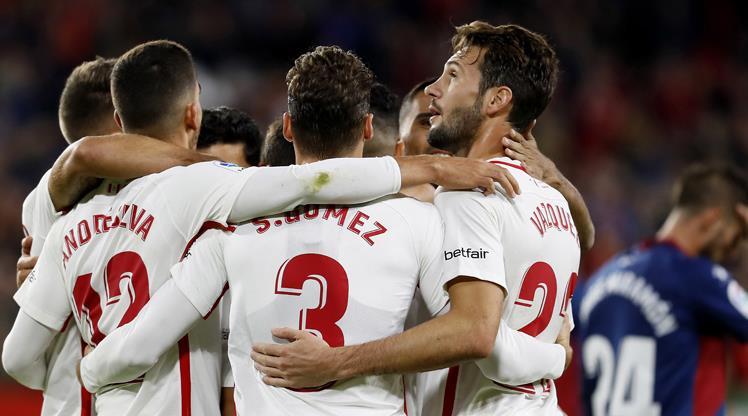 Sevilla Huesca maç özeti