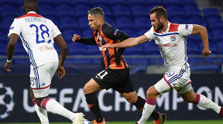 Olympique Lyon Shakhtar Donetsk maç özeti