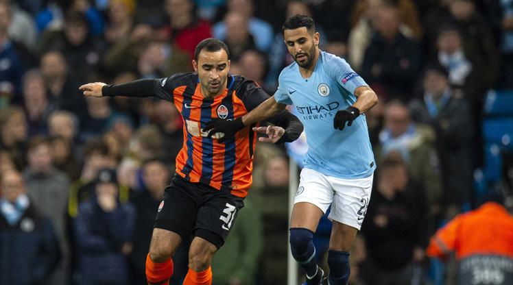 Manchester City Shakhtar Donetsk maç özeti