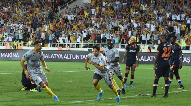 Yeni Malatyaspor Medipol Başakşehir maç özeti