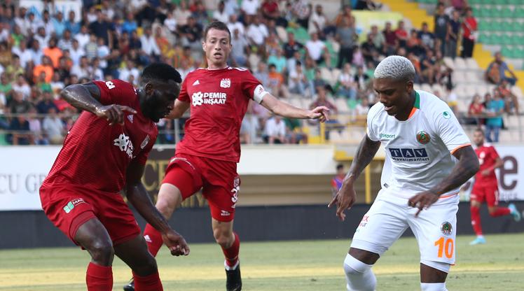 Aytemiz Alanyaspor DG Sivasspor maç özeti