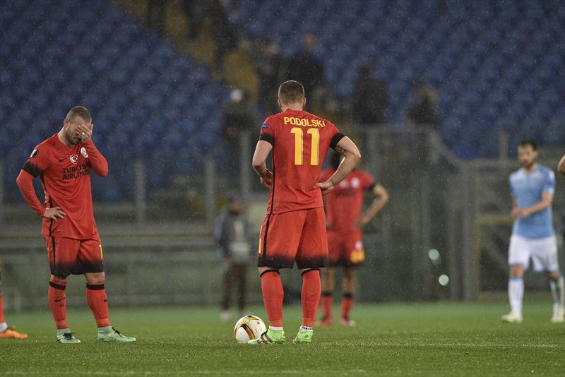 Lazio-Galatasaray foto galerisi