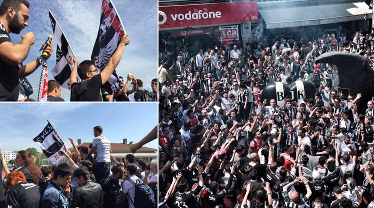 Beşiktaşlıların şampiyonluk yürüyüşü!
