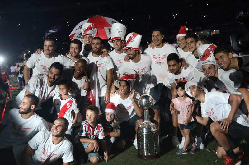River Plate şampiyonluğu kutladı