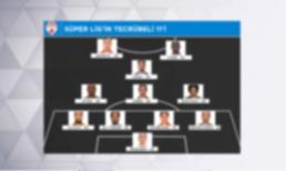 İşte Süper Lig'in tecrübeli 11'i