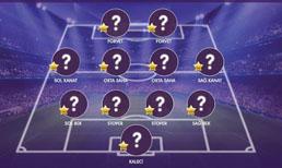 İşte OPTA verilerine göre Süper Lig'de 10. haftanın en iyi 11'i