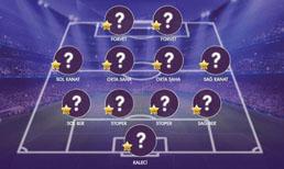 İşte Süper Lig'de ilk yarının en iyi 11'i