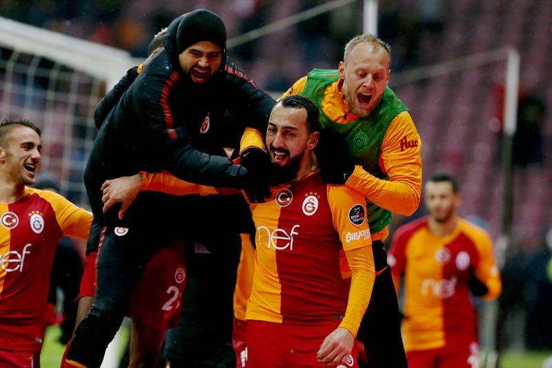 Galatasaray - Akhisarspor foto galerisi