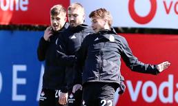 Beşiktaş'ta dikkat çeken ikili