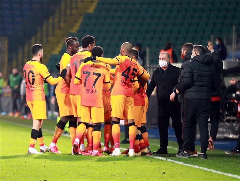 Çaykur Rizespor - Galatasaray maçından öne çıkanlar...