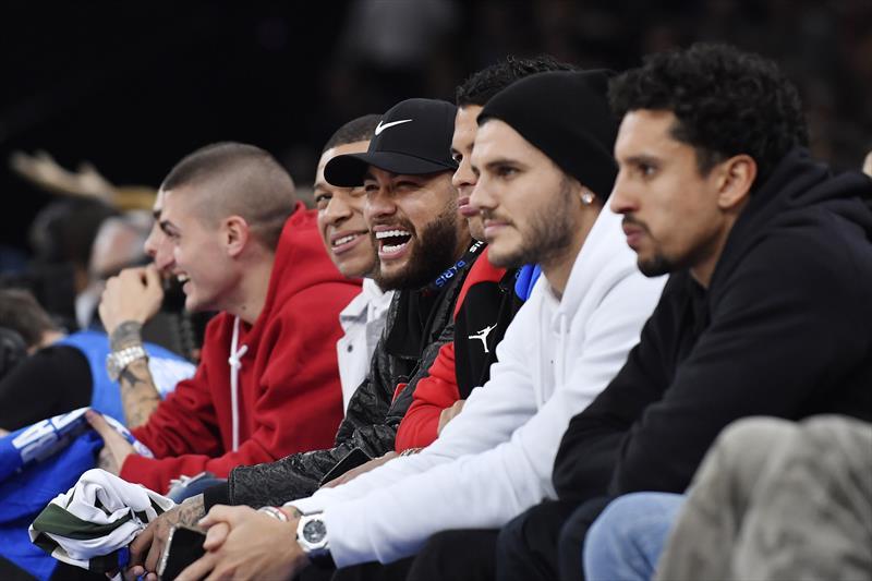 PSG'nin yıldızları NBA maçında!