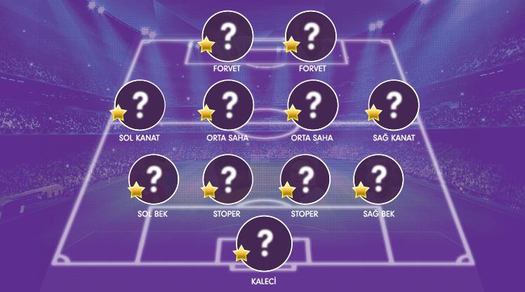 Süper Lig Cemil Usta Sezonu'nda 32. haftanın OPTA verileriyle hazırlanan en iyi 11'i burada!
