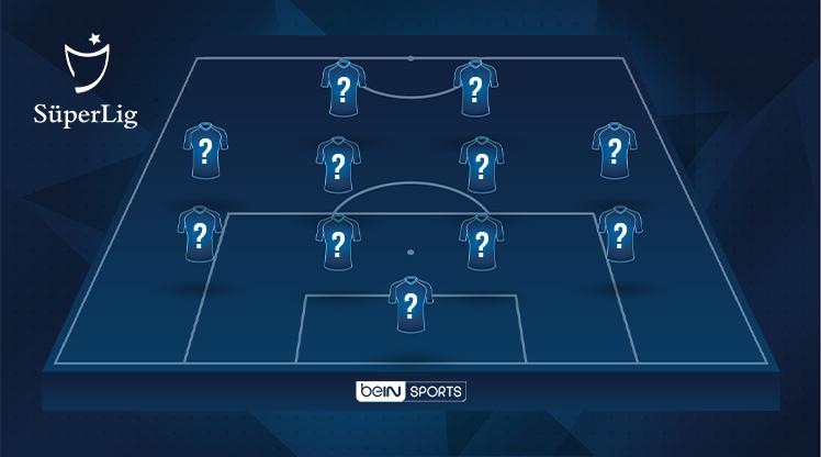 İşte OPTA verilerine göre, Süper Lig'de 35. haftanın en iyi 11'i...