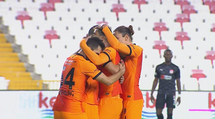 Demir Grup Sivasspor Galatasaray golleri
