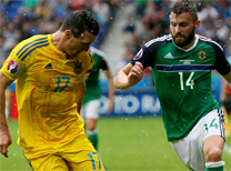 Ukrayna Kuzey İrlanda maç özeti