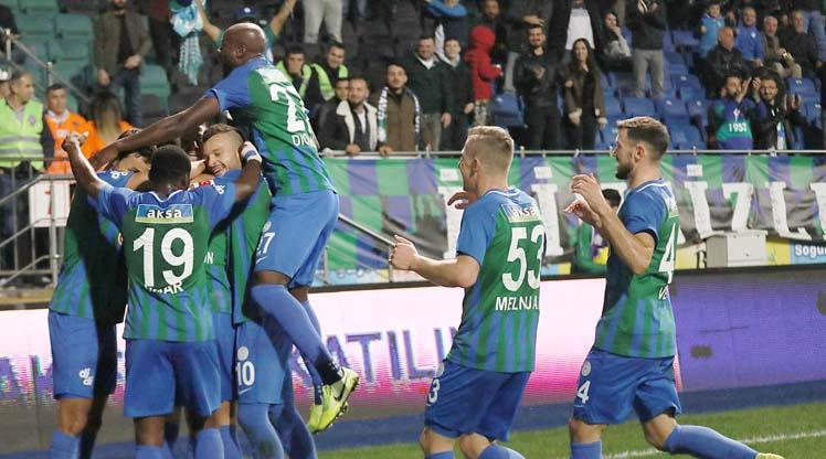 Çaykur Rizespor Antalyaspor maç özeti